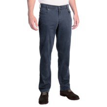 Hiltl Dolf Pants - Stretch Cotton (For Men) in Steel Grey - Closeouts