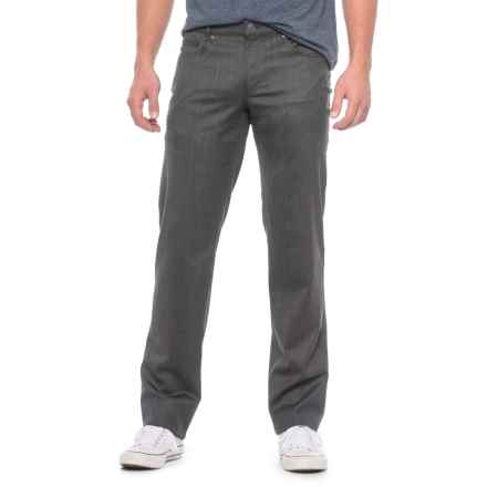 Hiltl Downey Twill Pants (For Men) in Charcoal - Closeouts