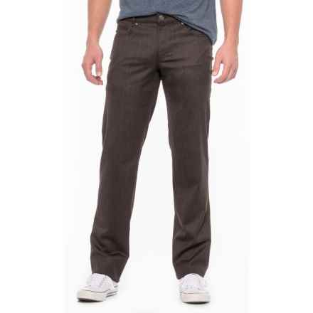 Hiltl Downey Twill Pants (For Men) in Dark Brown - Closeouts