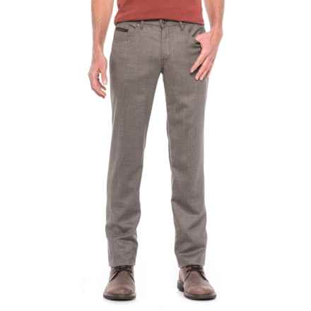 Hiltl Downey Twill Pants (For Men) in Tan - Closeouts