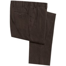 Hiltl Doyle Bedford Cord Pants (For Men) in Chocolate - Closeouts