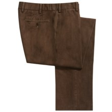 Hiltl Doyle Chino Nobile Pants - Contemporary Fit (For Men) in Brown - Closeouts