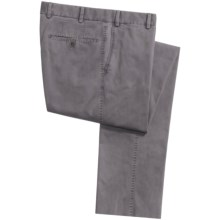 Hiltl Doyle Panama Chino Pants - Contemporary Fit (For Men) in Grey - Closeouts