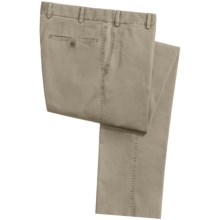Hiltl Doyle Panama Chino Pants - Contemporary Fit (For Men) in Khaki - Closeouts