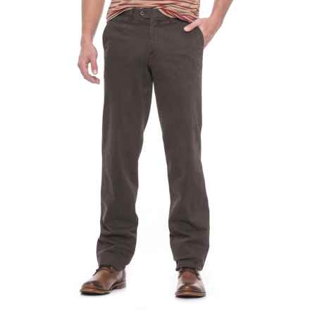 Hiltl Doyle Pants (For Men) in Charcoal - Closeouts