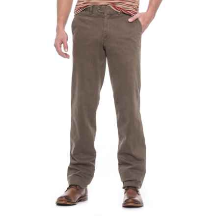 Hiltl Doyle Pants (For Men) in Cocoa - Closeouts