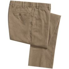 Hiltl Doyle Seacell Enzyme-Wash Pants (For Men) in Khaki - Closeouts