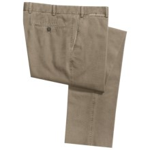 Hiltl Doyle Stonewashed Double Canvas Pants (For Men) in Beige - Closeouts