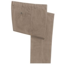 Hiltl Doyle Stonewashed Double Canvas Pants (For Men) in Khaki - Closeouts
