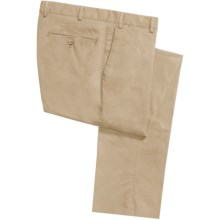 Hiltl Doyle Super Stretch Twill Pants (For Men) in Light Khaki - Closeouts