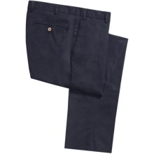 Hiltl Doyle Super Stretch Twill Pants (For Men) in Navy - Closeouts