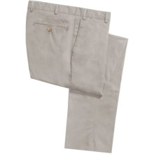 Hiltl Doyle Super Stretch Twill Pants (For Men) in Stone - Closeouts