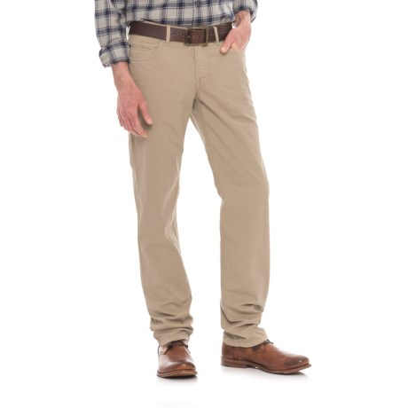 Hiltl Dude 5-Pocket Gabardine Pants (For Men) in Khaki