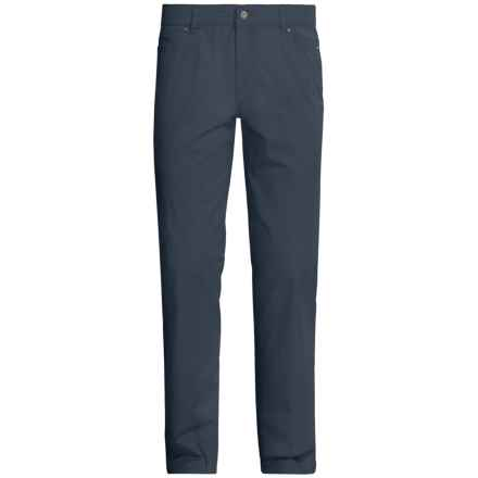 Hiltl Dude 5-Pocket Gabardine Pants (For Men) in Navy - Closeouts