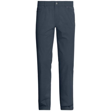 Hiltl Dude 5-Pocket Gabardine Pants (For Men) in Navy