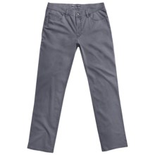 Hiltl Dude 5-Pocket Pants (For Men) in Dark Grey - Closeouts