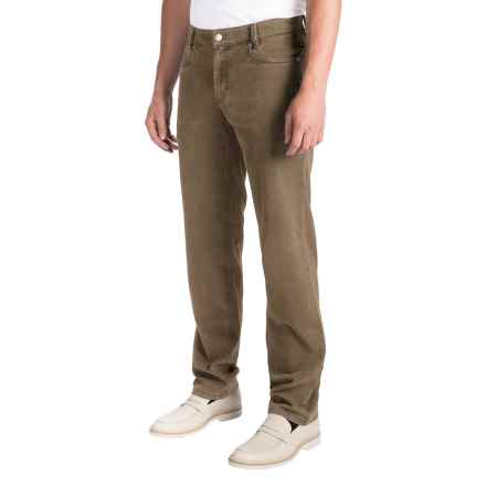 Hiltl Dude Contemporary Fit Pants (For Men) in Light Brown - Closeouts