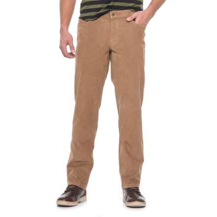 Hiltl Dude Corduroy Pants (For Men) in Khaki - Closeouts