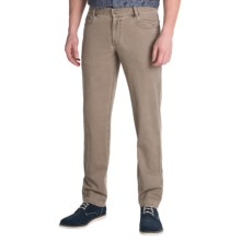 Hiltl Dude Double Canvas Pants (For Men) in Khaki - Closeouts