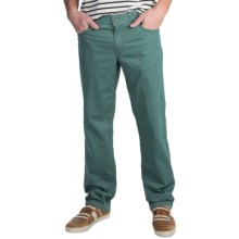 Hiltl Dude Double-Dye Pants (For Men) in Green - Closeouts