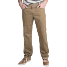 Hiltl Dude Double-Dye Pants (For Men) in Khaki - Closeouts