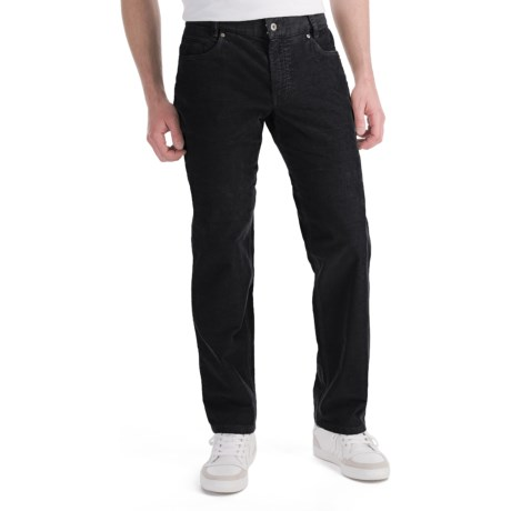 Hiltl Dude Fade Out Corduroy Pants - 5-Pocket (For Men) in Black