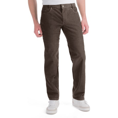Hiltl Dude Fade Out Corduroy Pants - 5-Pocket (For Men) in Brown