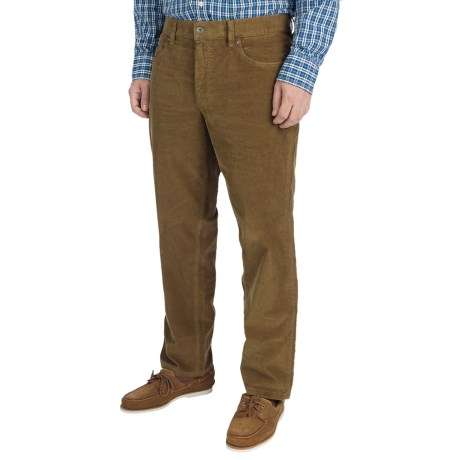 Hiltl Dude Fade Out Corduroy Pants - 5-Pocket (For Men) in Dark Beige