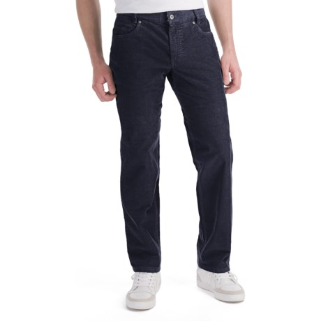 Hiltl Dude Fade Out Corduroy Pants - 5-Pocket (For Men) in Navy