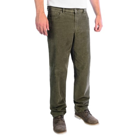Hiltl Dude Fade Out Corduroy Pants - 5-Pocket (For Men) in Olive