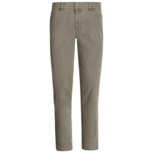 Hiltl Dude Giza Cotton Low-Rise Pants - 5-Pocket (For Men) in Olive - Closeouts