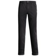 Hiltl Dude Stonewashed 5-Pocket Pants - Stretch Cotton (For Men) in Black - Closeouts
