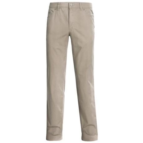 Hiltl Dude Stonewashed 5-Pocket Pants - Stretch Cotton (For Men) in Lt Beige