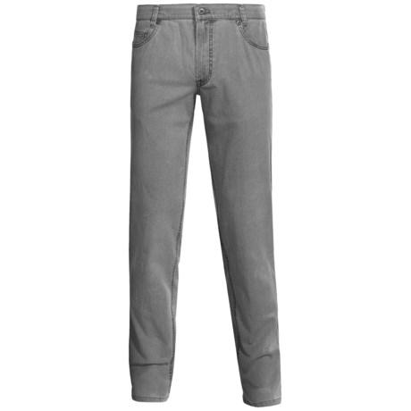 Hiltl Dude Washed 5-Pocket Pants - Cotton-Linen Blend (For Men) in Blue