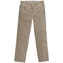 Hiltl John Inch Jeans - Vintage Stretch Cotton (For Men) in Beige - Closeouts