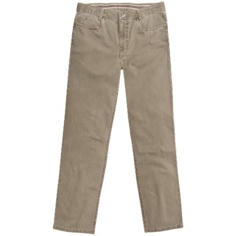 Hiltl John Inch Jeans - Vintage Stretch Cotton (For Men) in Beige