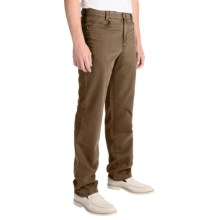 Hiltl John Inch Pants - Contemporary Fit (For Men) in Brown - Closeouts