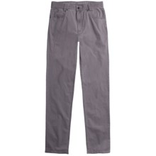 Hiltl John Inch Pants - Stretch Cotton (For Men) in Grey - Closeouts