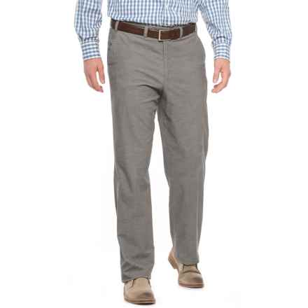 Hiltl Napa Bicolor Lux Corduroy Pants (For Men) in Silver - Closeouts