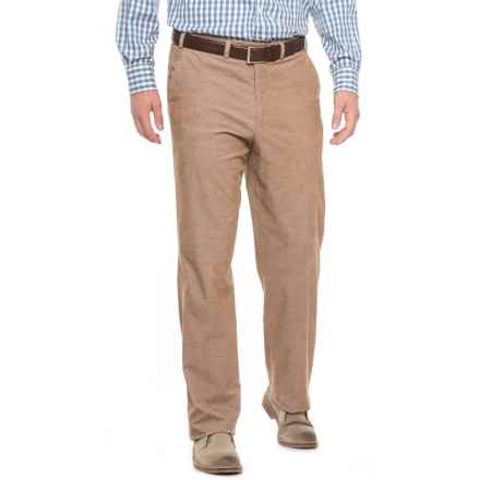Hiltl Napa Bicolor Lux Corduroy Pants (For Men) in Tan - Closeouts