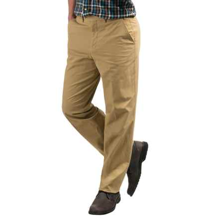 Hiltl Napa Pants (For Men) in Biege Brown - Closeouts