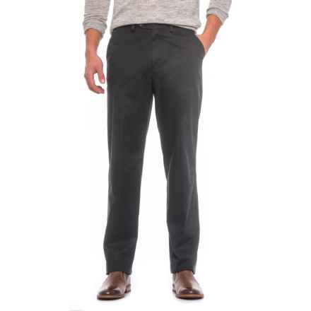 Hiltl Napa Pants - Unhemmed, Stretch Cotton (For Men) in Black - Closeouts