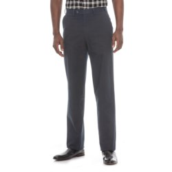 Hiltl Napa Pants - Unhemmed, Stretch Cotton (For Men) in Navy