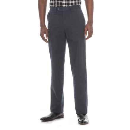 Hiltl Napa Pants - Unhemmed, Stretch Cotton (For Men) in Navy - Closeouts