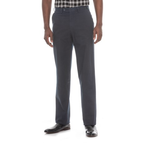 Hiltl Napa Pants - Unhemmed, Stretch Cotton (For Men)