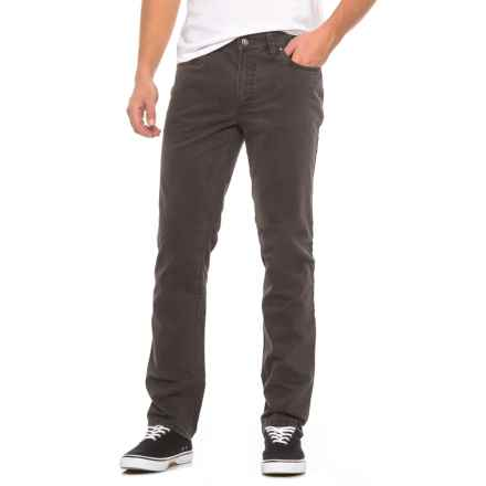 Hiltl Soft-Touch American Slim Pants (For Men) in Charcoal - Closeouts