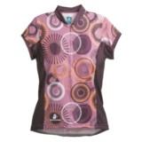 Hincapie Bella Cycling Jersey - UPF 30+, Half-Zip, Short Sleeve (For Women)