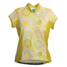 Hincapie Bella Cycling Jersey - UPF 30+, Half-Zip, Short Sleeve (For Women) in Lemonade - Closeouts