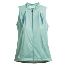 Hincapie Cortina Cycling Jersey - UPF 30+, Full-Zip, Sleeveless (For Women) in Ice - Closeouts