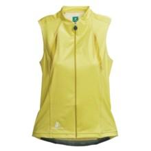 Hincapie Cortina Cycling Jersey - UPF 30+, Full-Zip, Sleeveless (For Women) in Lemonade - Closeouts